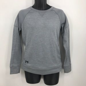 Under Armour Small Cold Gear Gray Loose Sweatshirt
